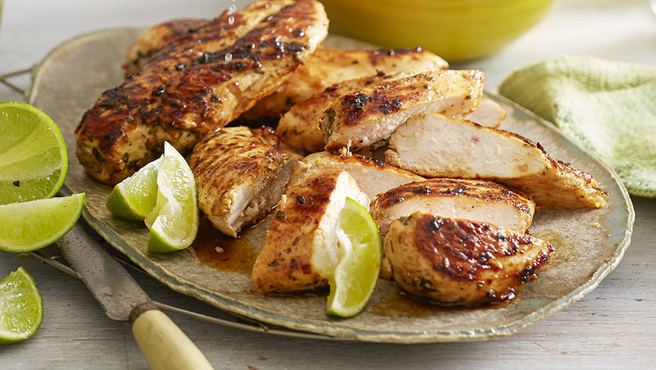 Endless Chicken Recipes – Lemon & Lime Marinated Chicken Fillets