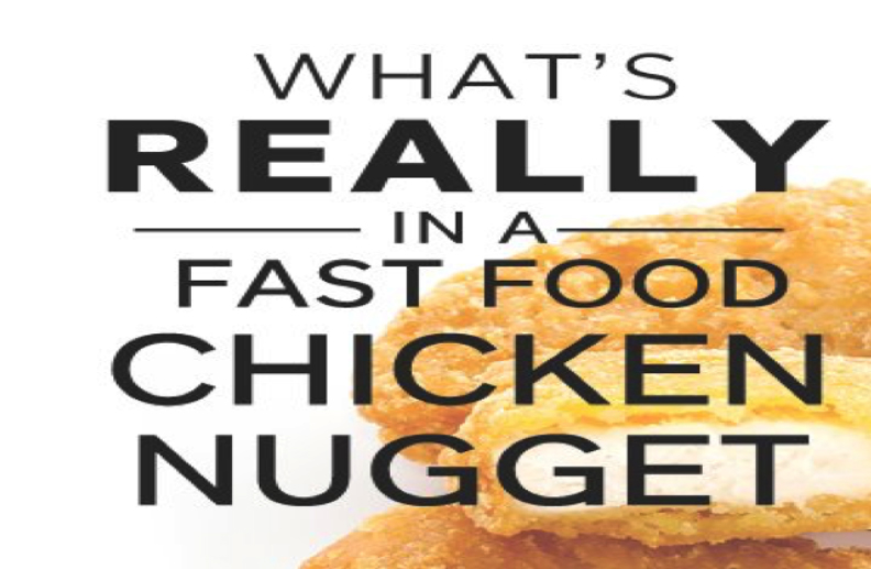 Surprise! What's Really in a Chicken Nugget?