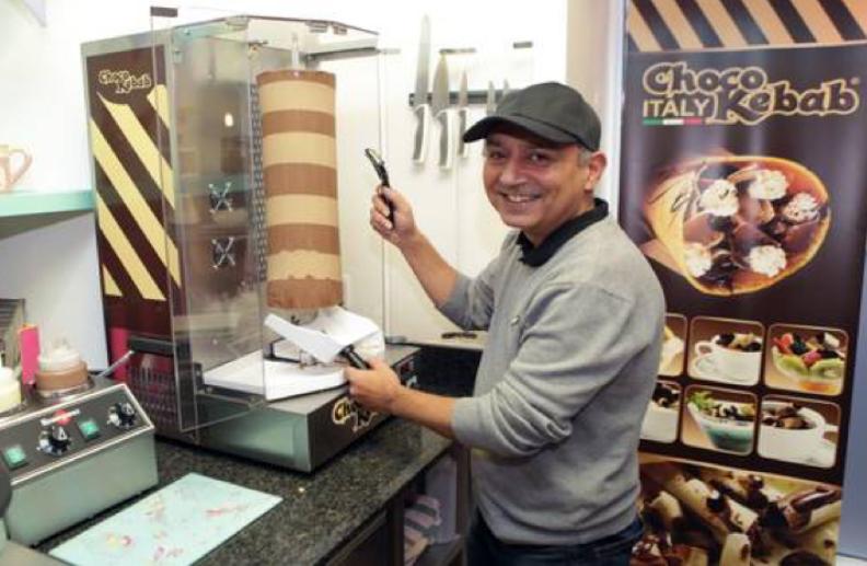 A Chocolate Kebab Shop in Ireland?