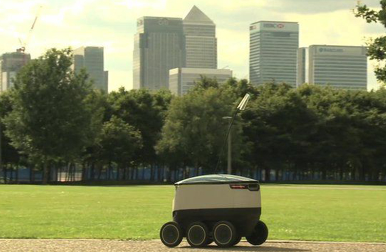 Meals on wheels: Could a robot soon deliver your takeaway?