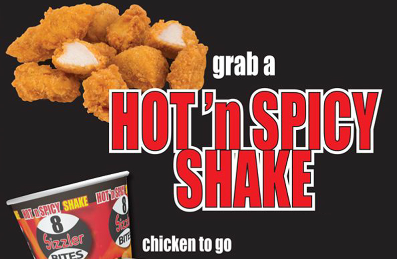 Hot n' Spicy Chicken to go! Limited Edition Promotion